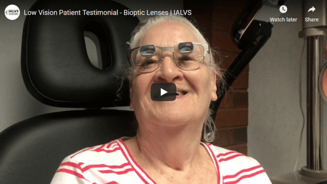 Screenshot 2020 03 12 Low Vision Patient Testimonial Bioptic Lenses IALVS