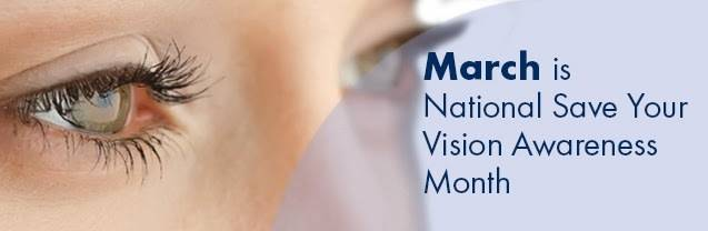 Save Your Vision Month