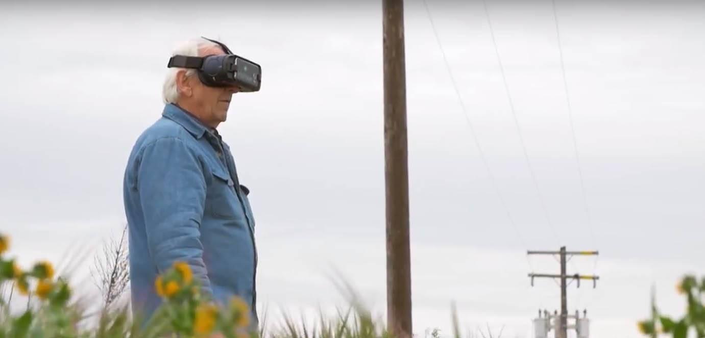 Man Wearing IrisVision
