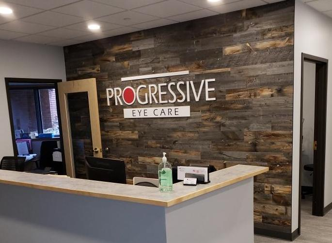Front Desk at Progressive Eye Care