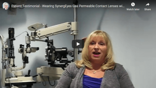 Screenshot 2020 06 30 Patient Testimonial   Wearing SynergEyes Gas Permeable Contact Lenses with Dry Eyes