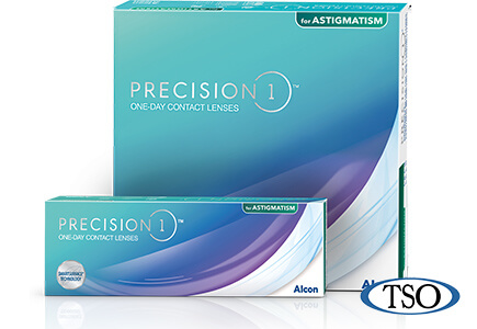 alcon precision1 astigmatism contact lenses