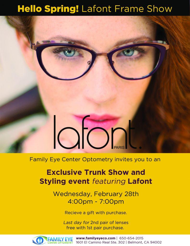 Lafont Trunk Show Print