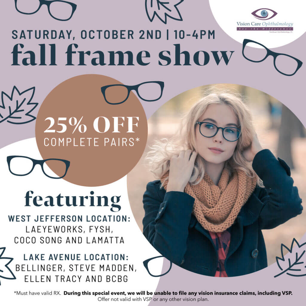 Vision Care Fall Trunk Show Social