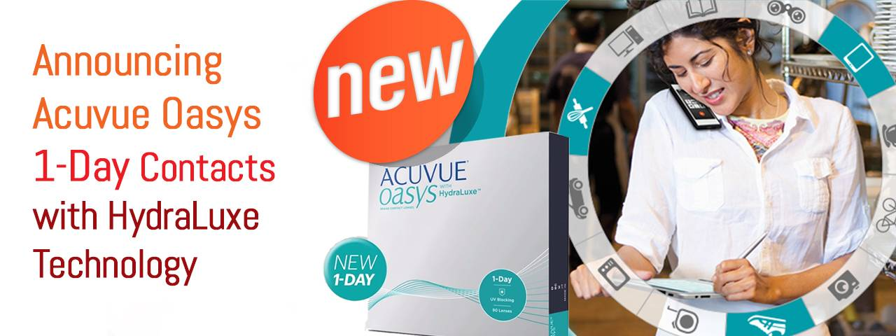 ACUVUE OASYS® 1-DAY NJ
