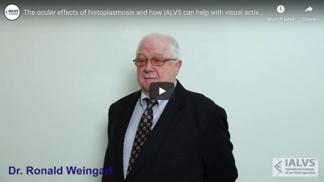 Screenshot 2019 11 08 The ocular effects of histoplasmosis and how IALVS can help with visual activity YouTube
