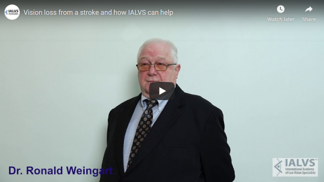 Screenshot 2019 11 08 Vision loss from a stroke and how IALVS can help   YouTube