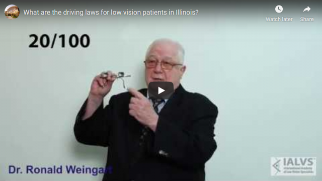 Screenshot 2019 11 08 What are the driving laws for low vision patients in Illinois   YouTube