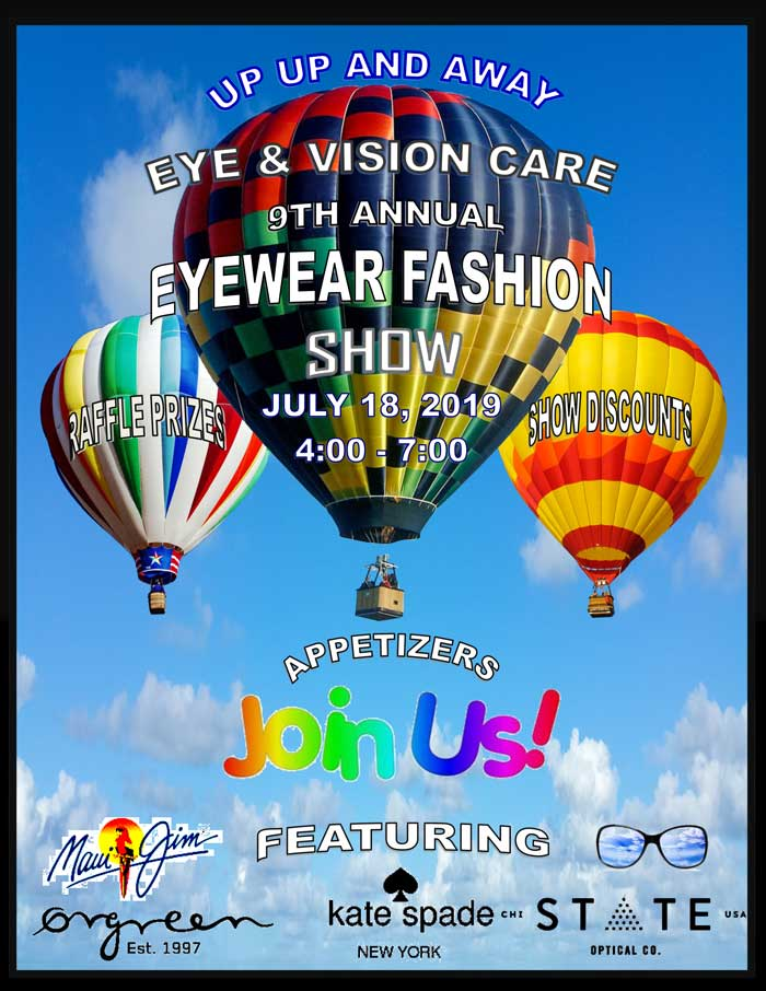 fashion eyewear flyer