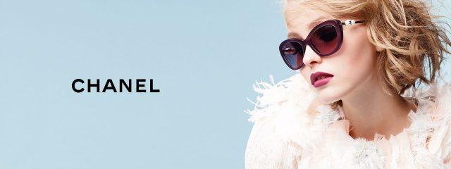 Optometrist, woman wearing Chanel sunglasses