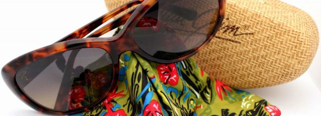 Optometrist, pair of Maui Jim eyeglasses