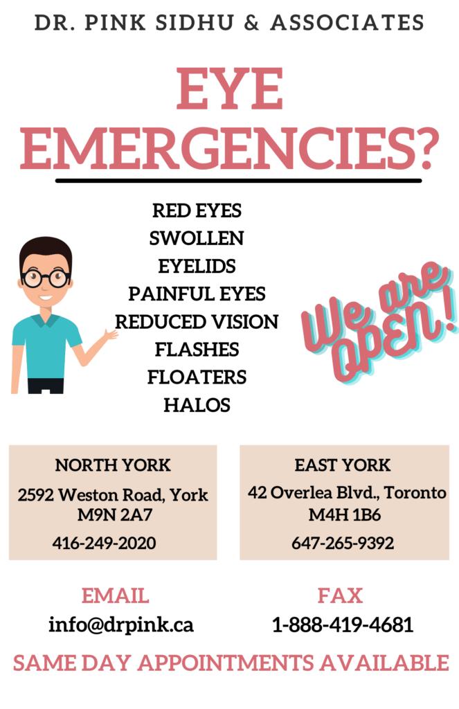 Eye Emergencies