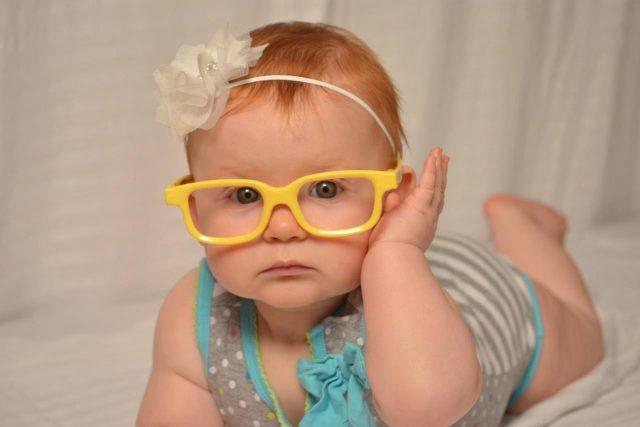 baby with infant eye exam in oklahoma city, OK