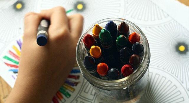 crayons coloring