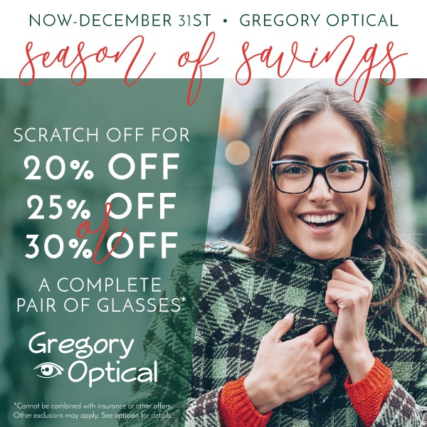 GregoryOptical Q4 Email