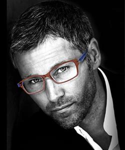 Model wearing Aspire glasses