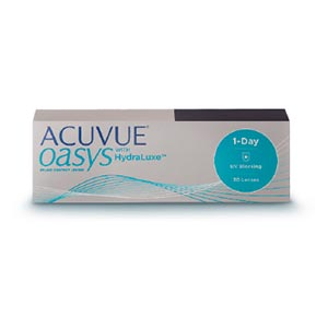 ACUVUE OASYS® 1 DAY with HydraLuxe™