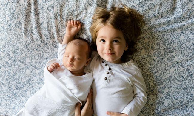 lovely baby boys family