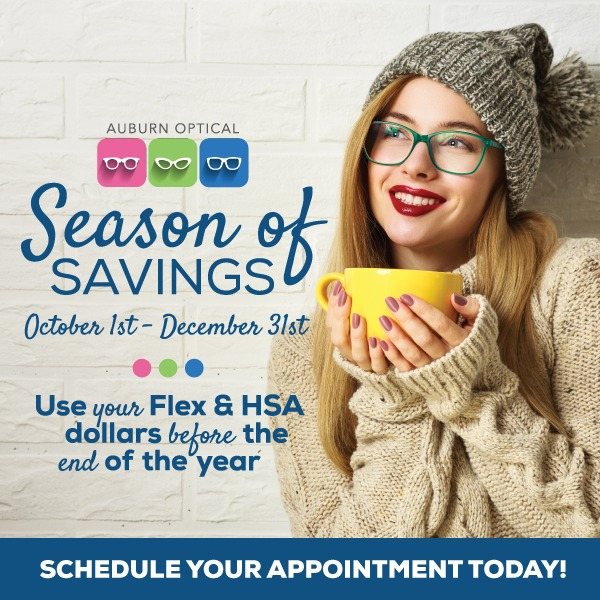 Q4 AuburnOptical SeasonOfSavings Email