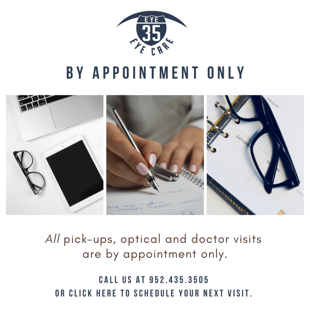 eye 35 By Appointment Only
