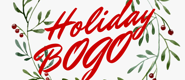 Holiday BOGO Email Header