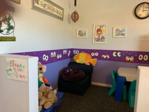 kids toy room at Vision Solutions