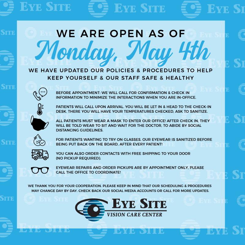 EyeSiteVisionCareCenter Email