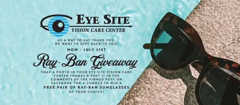 EyeSiteVisionCareCenter RayBanGiveaway FBCover