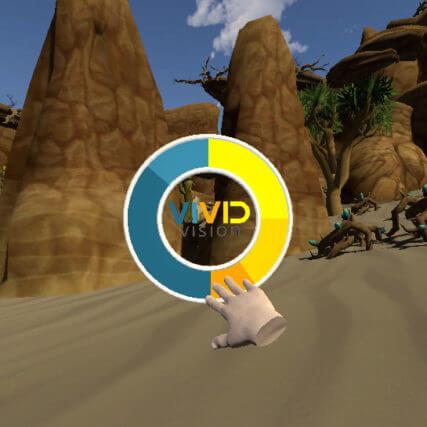 Vivid Vision virtual reality for vision therapy