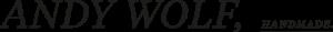 andy wolf handmade logo
