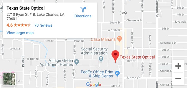 TSO Lake Charles Map