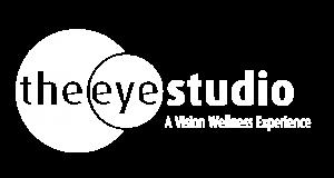 the eye studio logo WHITE