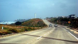 Joe Wolf photo of Pacific Coast Drive: Northbound on Highway 101, Carlsbad CA
