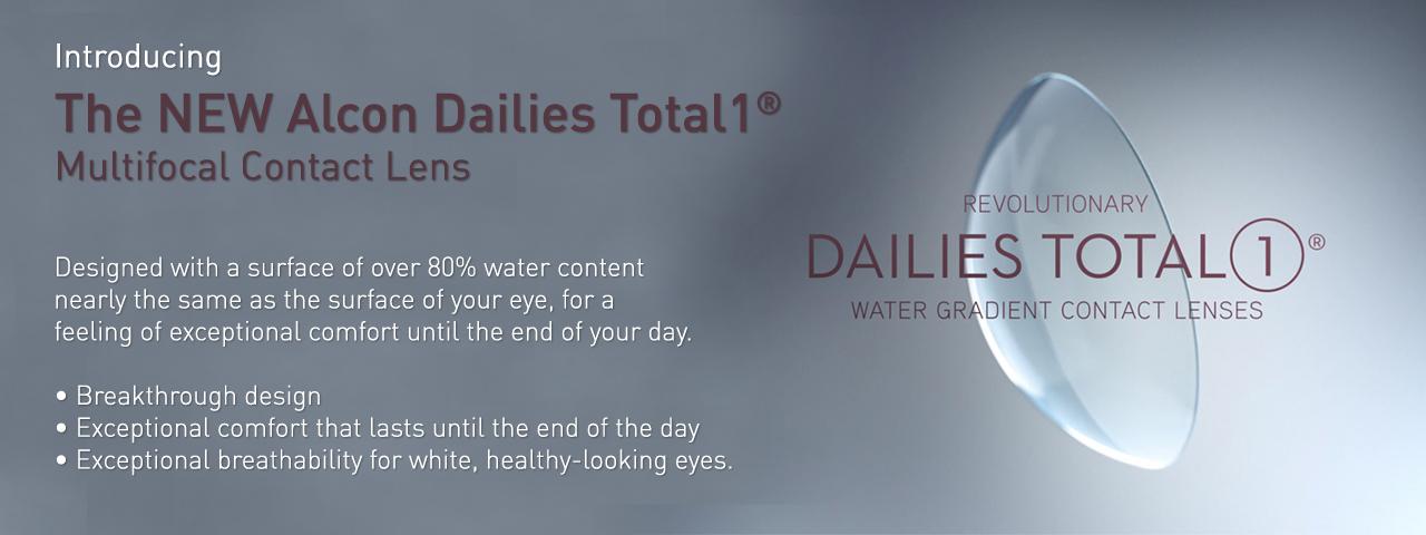 Dailies Total1 Multifocals Contact Lenses
