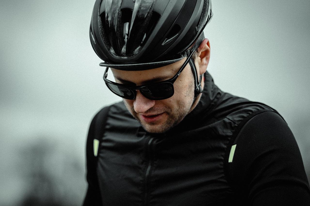 cyclist helmet sunglasses unsplash
