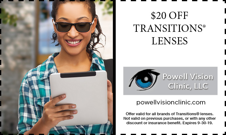 Powell Vision Clinic COUPON