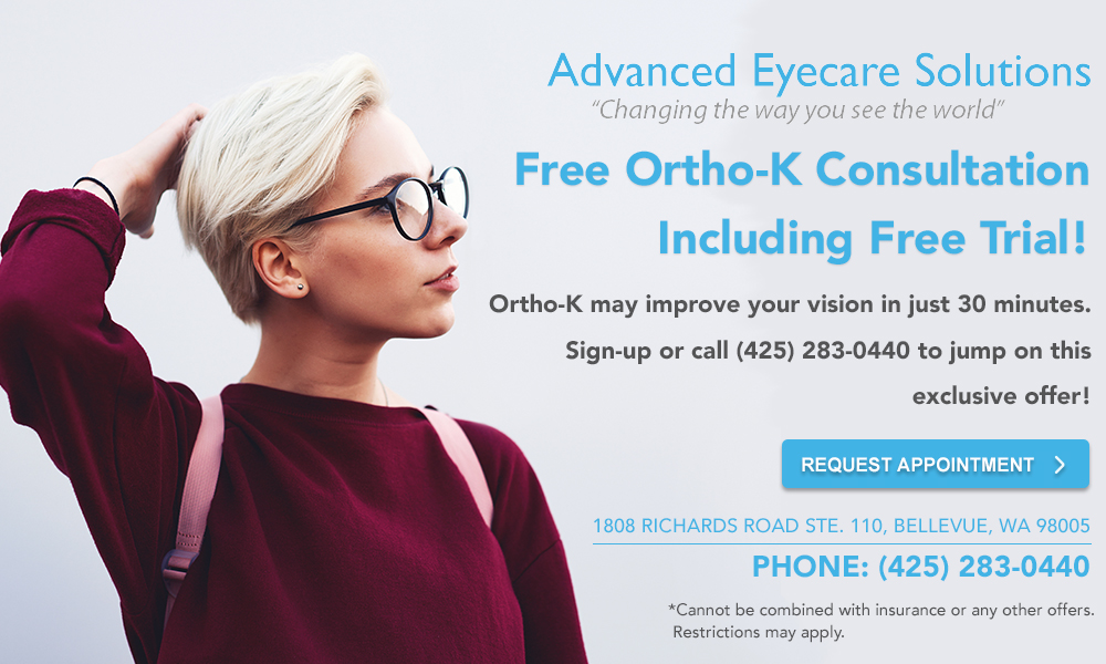 Advanced Eyecare Ortho K special