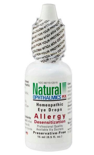 Allergy Desensitization Eye Drops