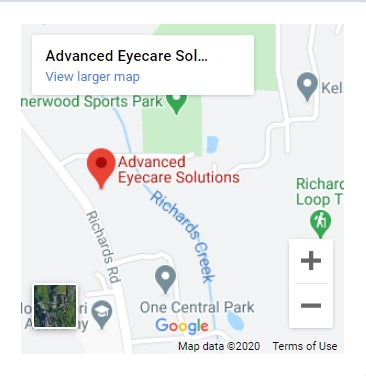 Advanced Eyecare Solutions Map