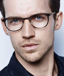 man eyewear