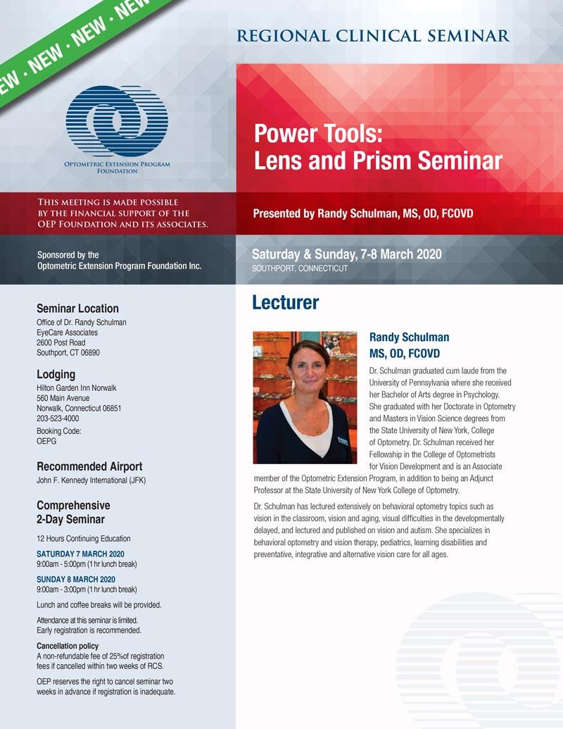 RCS Power Tools Schulman