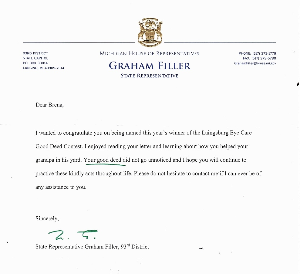 2019 Letter from state rep 2