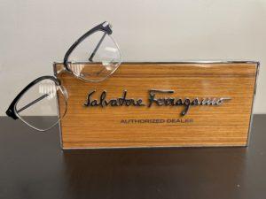 Salvatore Ferragamo frame display