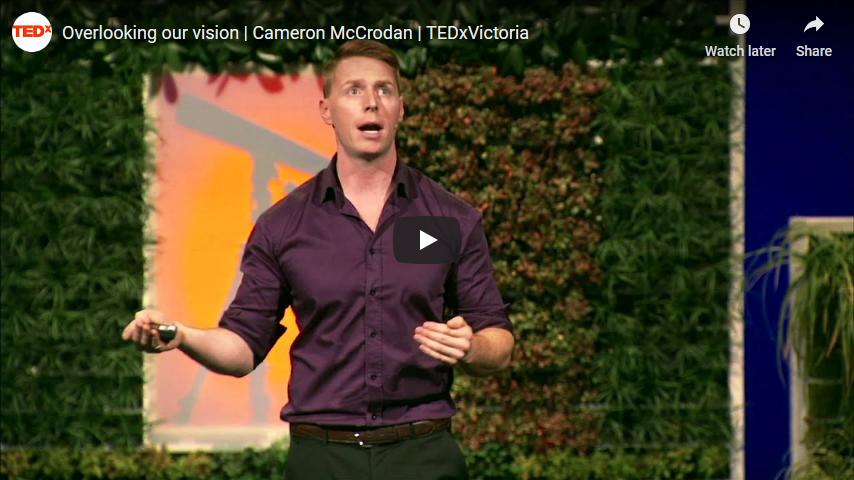 Screenshot 2019 12 07 Overlooking our vision Cameron McCrodan TEDxVictoria YouTube