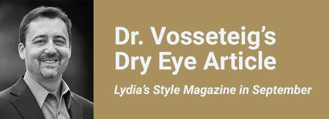 Dr. Vosseteig's Dry Eye Article