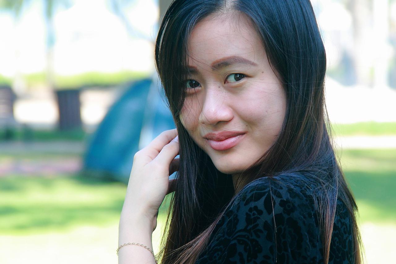 Asian Woman Smiling 1280x853