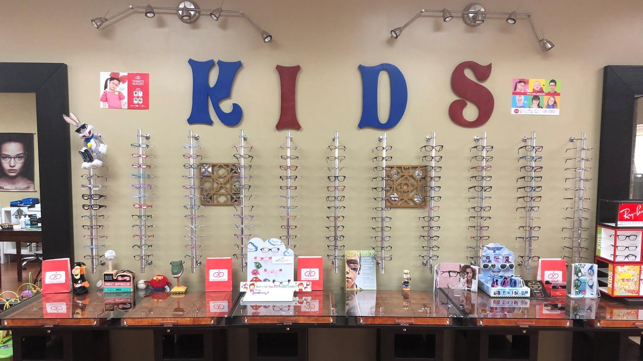 Kids optical display crop