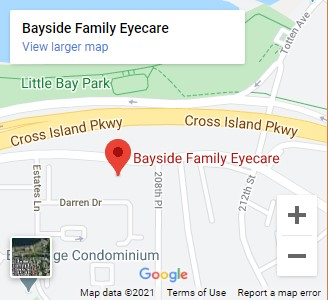 Bayside Family Eyecare Map
