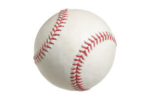 Baseball,Isolated,On,White,With,Clipping,Path