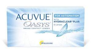 JJ acuvue oasys 2 week astigmatism